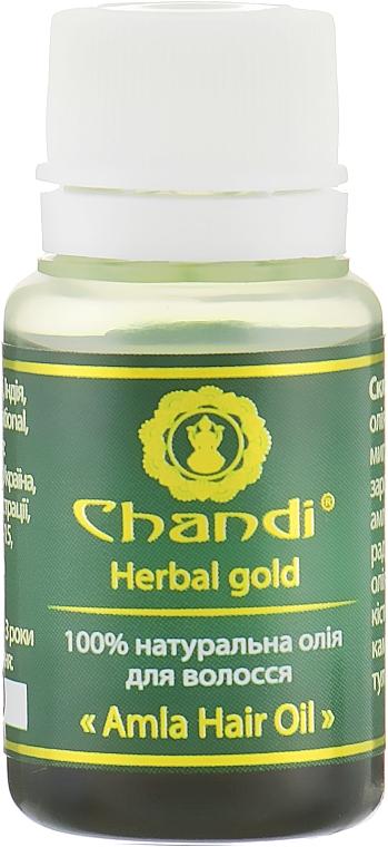 "Натуральное масло для волос ""Амла"" - Chandi Amla Hair Oil (мини)"