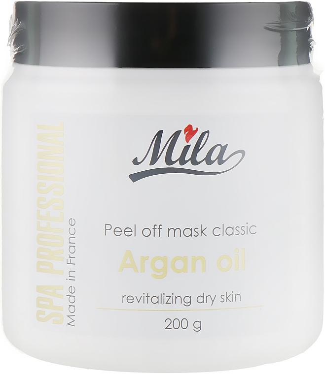 """Маска альгінатна напівпрозора порошкова із """"золотою"""" олією аргани - Mila Oriental Energizing Translucent Peel Off Mask Argan Oil — фото N1"""