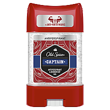 Духи, Парфюмерия, косметика Дезодорант-антиперспирант гелевый - Old Spice Captain Antiperspirant Gel