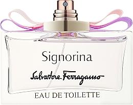 Духи, Парфюмерия, косметика Salvatore Ferragamo Signorina - Туалетная вода (тестер без крышечки)