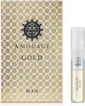 Духи, Парфюмерия, косметика Amouage Gold Pour Homme - Парфюмированная вода (пробник)