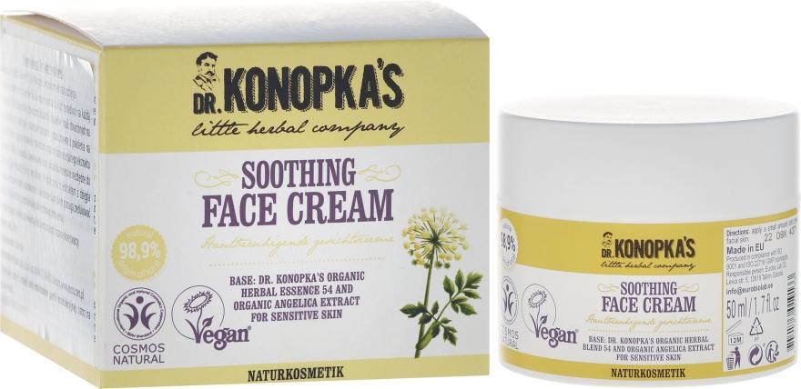 Крем для лица смягчающий - Dr. Konopka's Soothing Face Cream
