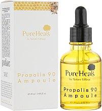 Духи, Парфюмерия, косметика Питательная сыворотка с экстрактом прополиса для чувствительной кожи - PureHeal's Propolis 90 Ampoule