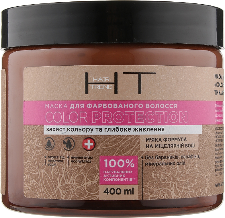 Маска для окрашенных волос - Hair Trend Color Protection