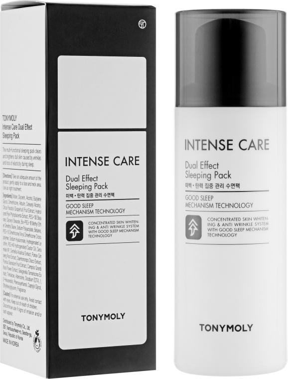 Ночная маска для лица с двойным эффектом - Tony Moly Intense Care Dual Effect Sleeping Pack