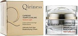 Духи, Парфюмерия, косметика Антивозрастной восстанавливающий крем легкий - Qiriness Ultimate Anti-Age Redensifying Cream