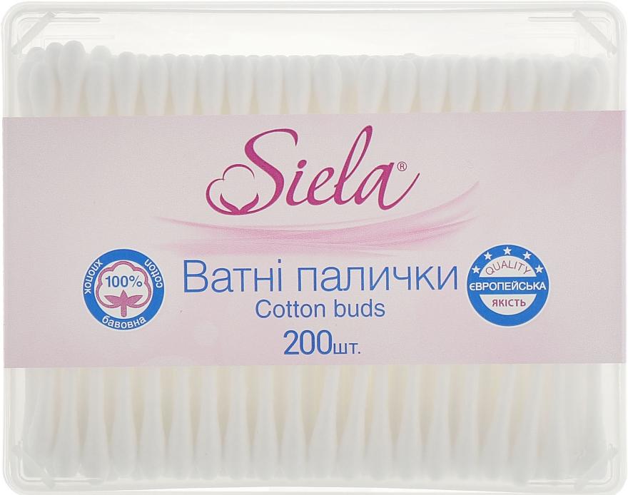 Ватные палочки в коробке - Siela Cotton Buds