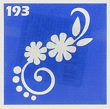 Духи, Парфюмерия, косметика Трафарет для боди-арта, 6х6 см, 193 - Biofarma