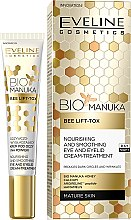 Духи, Парфюмерия, косметика Антивозрастной крем для кожи вокруг глаз - Eveline Cosmetics Bio Manuka Bee Lift-tox