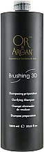 Духи, Парфюмерия, косметика Подготовительный шампунь с глубоким и мягким очищающим действием - Or&Argan Brushing 3D