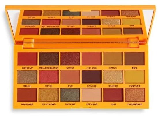Палетка теней для век, 18 оттенков - I Heart Revolution Tasty Palette