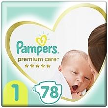 Духи, Парфюмерия, косметика Подгузники Pampers Premium Care Newborn (2-5 кг), 78шт - Pampers