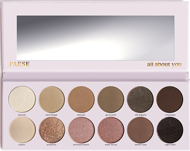 Палетка теней для век - Paese All About You Eyeshadow Palette — фото N6