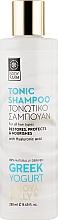 Духи, Парфюмерия, косметика Шампунь для волос с греческим йогуртом и маточным молочком - Bodyfarm Greek Yogurt & Royal Jelly Hair Shampoo