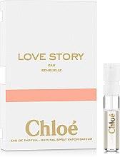 Духи, Парфюмерия, косметика Chloe Love Story Eau Sensuelle - Парфюмированная вода (пробник)