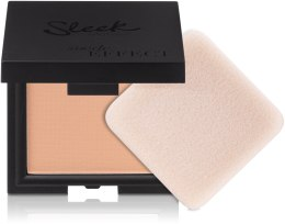 Духи, Парфюмерия, косметика Бархатистая пудра для лица - Sleek MakeUP Suede Effect Pressed Powder SPF15