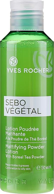 Матирующий лосьон-пудра - Yves Rocher Sebo Vegetal Lotion