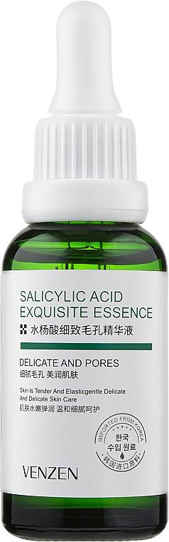 Сыворотка для сужения пор с салициловой кислотой - Venzen Salicilic Acid Exquicite Essence