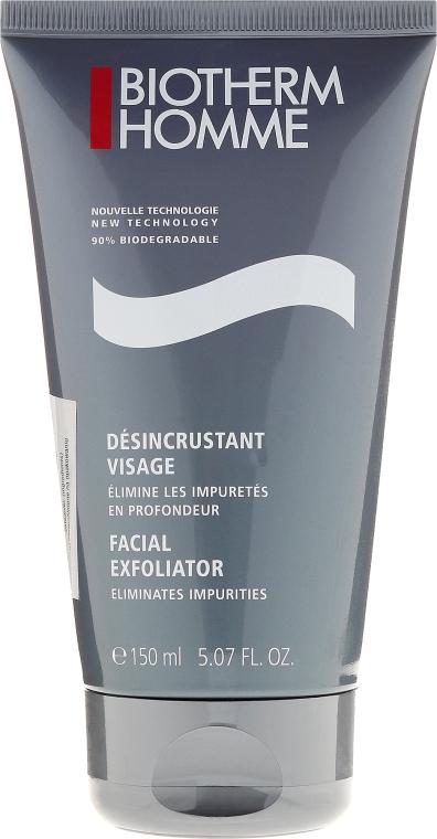 Відлущуючий скраб для обличчя - Biotherm Homme Facial Exfoliator — фото N1