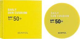 Кушон солнцезащитный - Eunyul Daily Sun Cushion SPF 50+ PA++++ — фото N1