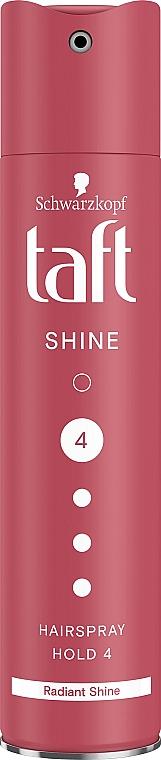 """Лак для волос """"Блеск"""", сверхсильная фиксация - Taft Shine"""