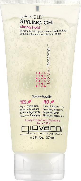 Гель для укладки волос - Giovanni Styling Gel L.A. Natural