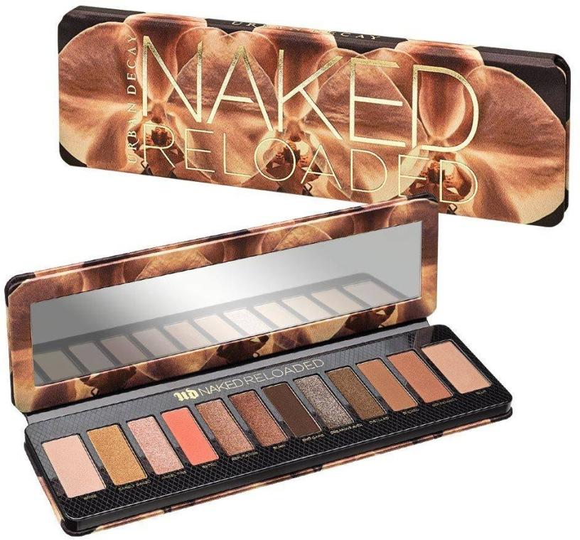 Палетка теней для век - Urban Decay Naked Reloaded Eyeshadow Palette