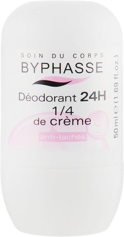 """Дезодорант роликовый """"Кремовый"""" - Byphasse 24h Deodorant 1/4 of Cream"""