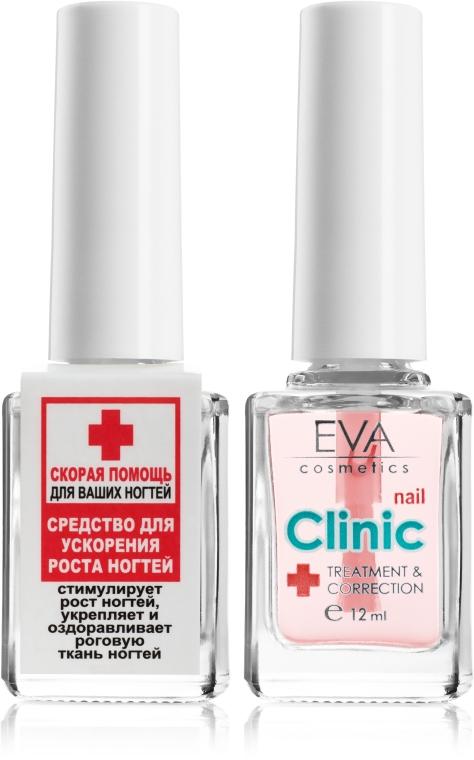 Средство для ускорения роста ногтей - Eva Cosmetics Clinic Nail