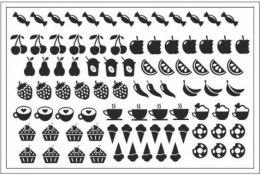 Духи, Парфюмерия, косметика Трафарет для ногтей D-07 - Adore Professional Deep Design D-07