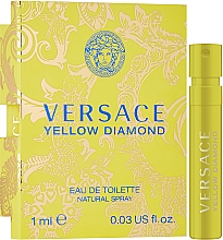 Духи, Парфюмерия, косметика Versace Yellow Diamond - Туалетная вода (пробник)