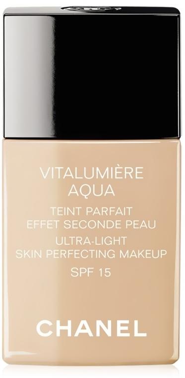 Тональный крем - Chanel Vitalumiere Aqua