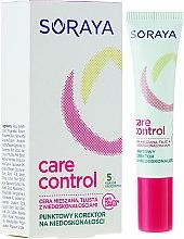 Духи, Парфюмерия, косметика Корректор для лица - Soraya Care Control Corrector
