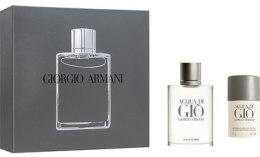 Духи, Парфюмерия, косметика Giorgio Armani Acqua di Gio Pour Homme - Набор (edt/100ml + deo/75ml)