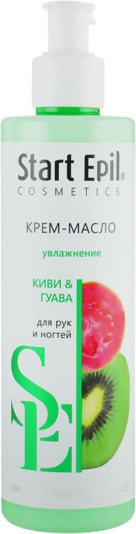 "Крем-масло для рук ""Киви и Гуава"" - Aravia Professional Start Epil"