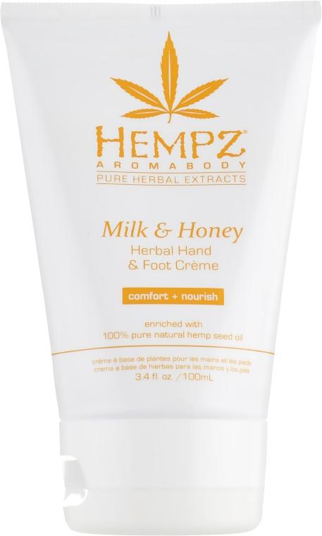 """Крем для рук и ног """"Молоко и мед"""" - Hempz Milk and Honey Herbal Hand and Foot Cream"""