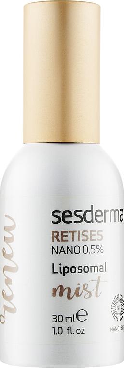 Липосомальный мист для лица с ретинолом - SesDerma Laboratories Retises Nano 0,5% Liposomal Mist