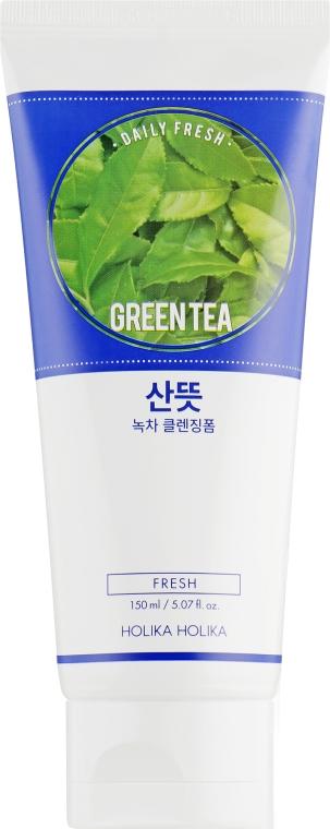 Освежающая очищающая пенка - Holika Holika Daily Fresh Green Tea Cleansing Foam