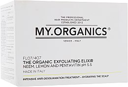 Духи, Парфюмерия, косметика Набор - My.Organics Exfoliating Elixir (Elixir/6x6ml + shampoo/100ml)