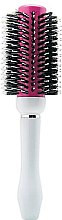 Духи, Парфюмерия, косметика Брашинг, круглый, розовый с белым №68 - Perfect Beauty Brushes Pink Cream 68mm