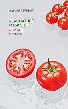 Духи, Парфюмерия, косметика Тканевая маска с экстрактом томата - Nature Republic Real Nature Mask Sheet Tea Tree