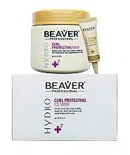 Духи, Парфюмерия, косметика Питательная маска для интенсивного восстановления и защиты локонов - Beaver Professional Hydro Mask (mask/500ml+essence/6x10ml)
