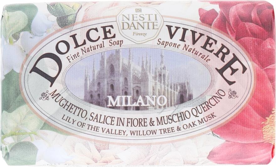 "Мыло ""Милан"" - Nesti Dante Dolce Vivere Milano"