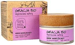 Духи, Парфюмерия, косметика Крем для лица увлажняющий с маслом виноградных косточек - Gracja Bio Moisturizing Face Cream