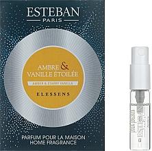 Духи, Парфюмерия, косметика Парфюмированный аромат для дома - Esteban Amber&Starry Vanilla Home Fragrance (пробник)