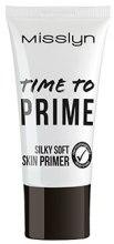 Духи, Парфюмерия, косметика Основа под макияж - Misslyn Time To Prime Silky Soft Skin Primer