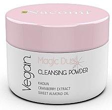 Духи, Парфюмерия, косметика Очищающая пудра для сухой кожи лица - Nacomi Face Cleansing & Brightening Powder Magic Dust