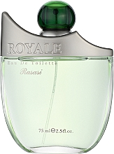 Духи, Парфюмерия, косметика Rasasi Royale Pour Homme - Туалетная вода