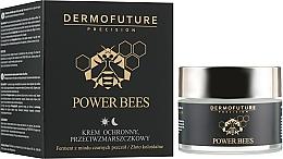 Духи, Парфюмерия, косметика Защитный крем для лица против морщин - Dermofuture Power Bees Protective Anti-wrinkle Cream