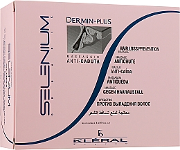 Духи, Парфюмерия, косметика Ампулы против выпадения волос - Kleral System Red Clay Anti-Dandruff Mask Dermin Plus